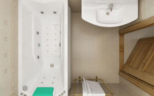 Внешний вид ванны Чарли Тритон
