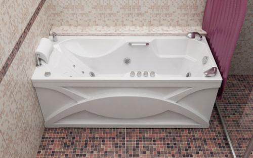Внешний вид ванны Диана Тритон