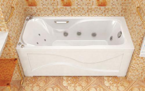 Зовнішній вигляд ванни Джулія Тритон
