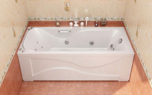 Внешний вид ванны Катрин Тритон