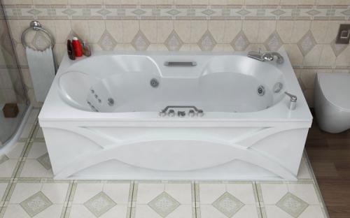 Внешний вид ванны Лагуна Тритон
