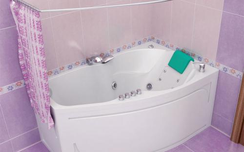 Внешний вид левой ванны Лайма Тритон