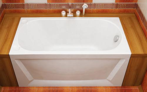Внешний вид ванны Лу-Лу Тритон