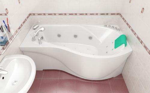 Зовнішній вигляд лівої ванни Мішель Тритон