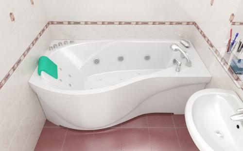 Зовнішній вигляд правої ванни Мішель Тритон