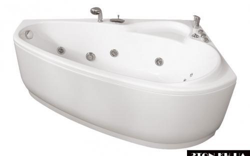 Ліва ванна Пеарл-Шелл Тритон