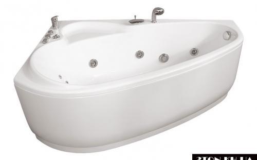 Права ванна Пеарл-Шелл Тритон