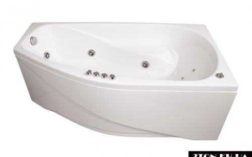 Ліва ванна Скарлет Тритон