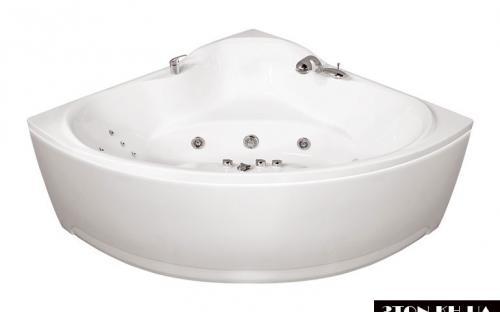 Угловая ванна Троя Тритон