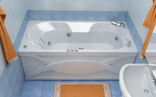 Внешний вид ванны Валери Тритон