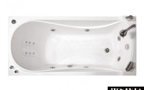 Вид зверху ванни Вікі Тритон