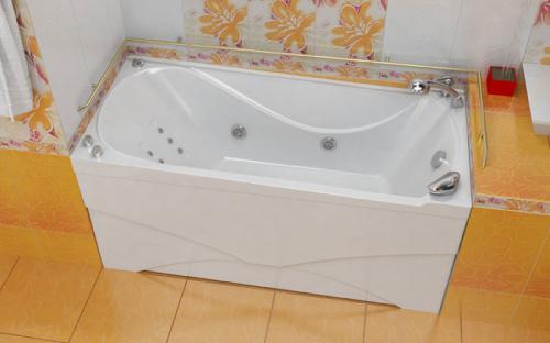 Зовнішній вигляд ванни Вікі Тритон